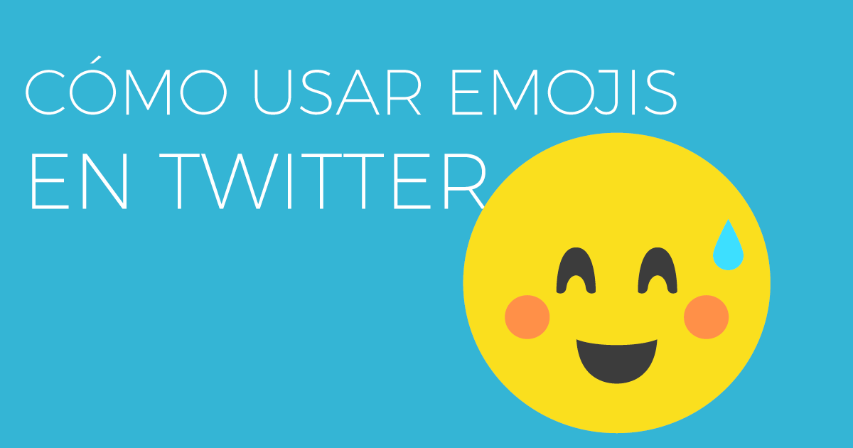 Cómo usar emoticonos en Twitter