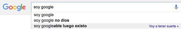 soy googleable luego existo