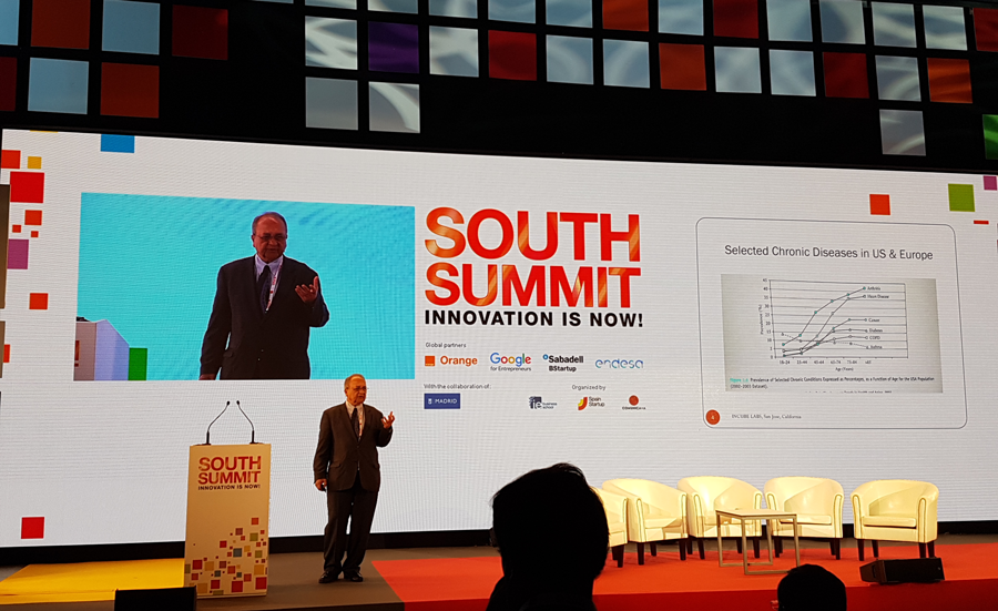 Vertical de salud en el South Summit
