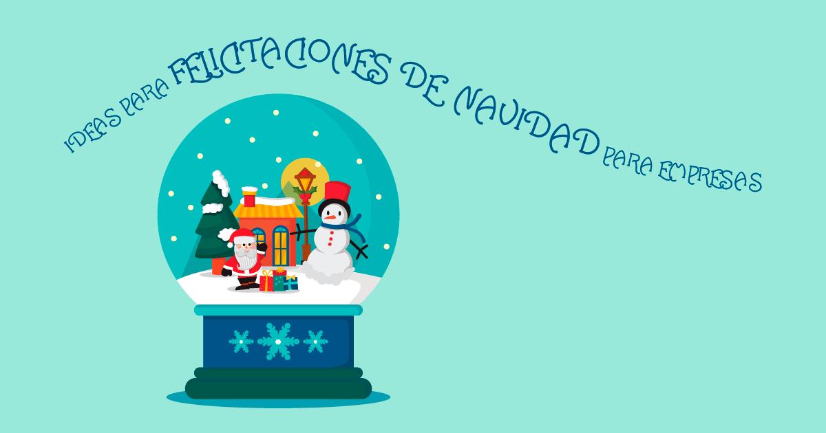 Felicitaciones de Navidad para empresas