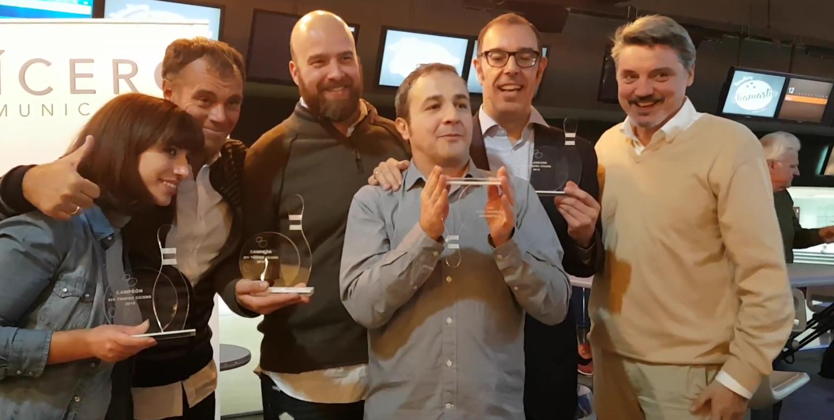Ganadores bolos Cícero 2016