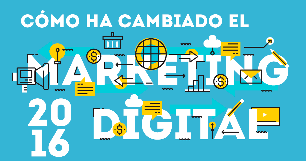 Cómo ha cambiado el marketing digital en 2016
