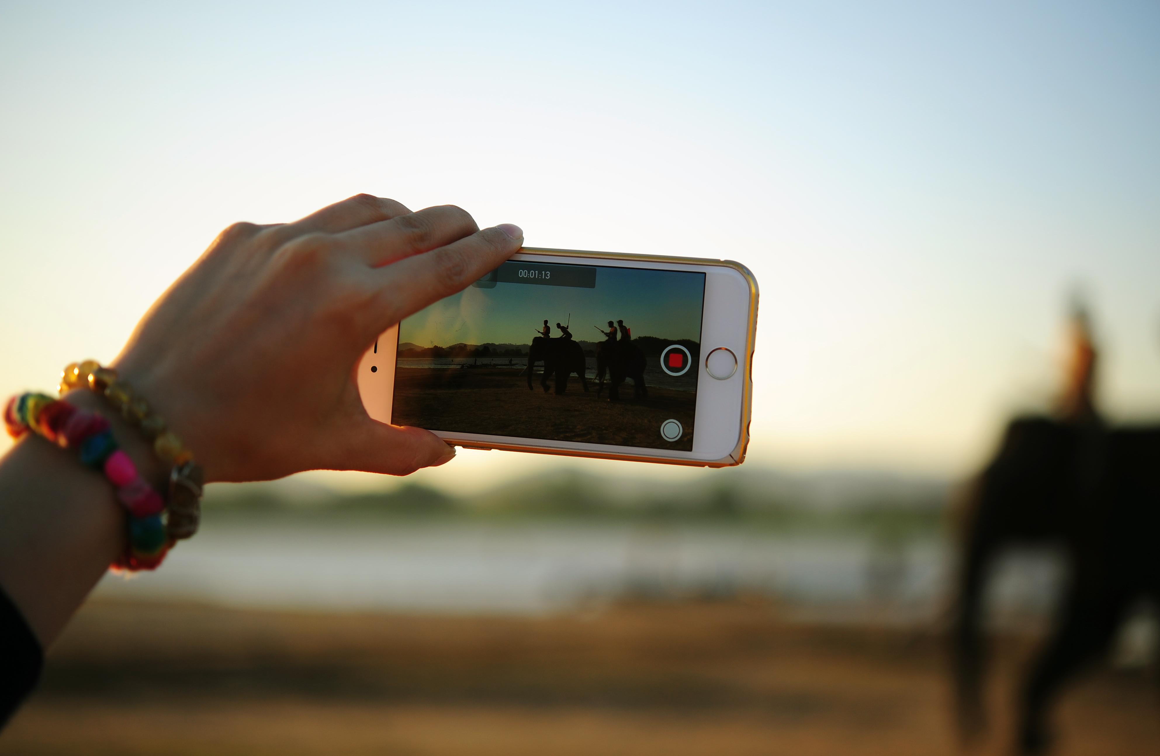 Grabación de vídeo con móvil