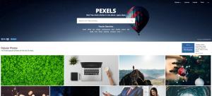 Bancos de imagen gratis Pexels