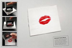 Ejemplo de tarjeta de visita original Sandra Martins