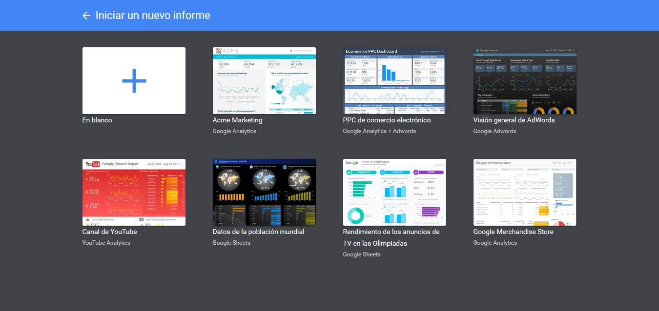 Guía: Crea informes de Analytics en Google Data Studio | Cícero ...