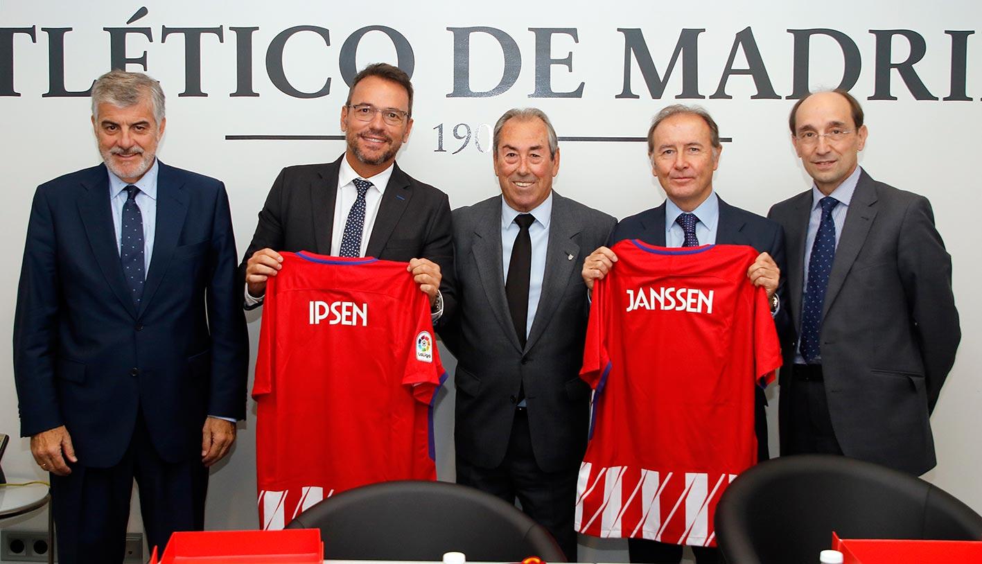 Acuerdo Fundación Atlético Madrid, Janssen, Ipsen